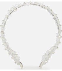 shrimps women's diana headband - cream/clear