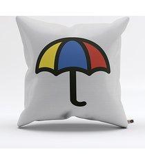 almofada ombrelo guarda-chuva
