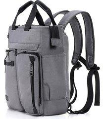 uomo multifunzione nylon zaino resistente all'acqua business solid crossbody borse borse per esterni