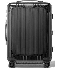 rimowa essential sleeve cabin 22-inch wheeled suitcase - black
