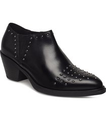 d lovai e shoes boots ankle boots ankle boots with heel svart geox