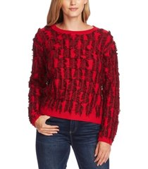 vince camuto cotton eyelash sweater