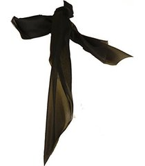 1616 (black-) 50's chiffon scarf
