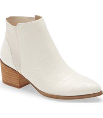 women's chinese laundry finn bootie, size 9 m - ivory
