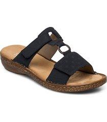 62885-14 shoes summer shoes flat sandals blå rieker