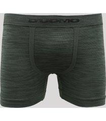 cueca boxer masculina mescla sem costura d'uomo verde