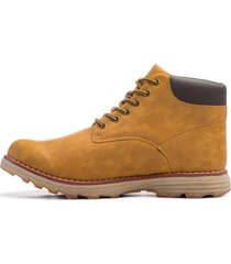 botin camel coffe carbin chancleta