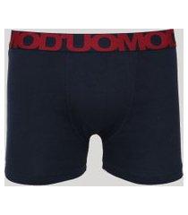 cueca masculina duomo boxer azul marinho