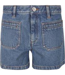 a.p.c. shanya denim shorts