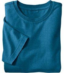 jersey t-shirt uit een mix van hennep en bio-katoen, oceaan xl