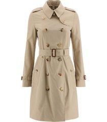 burberry chelsea midi trench coat