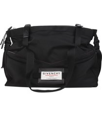 givenchy black downtown duffle bag s