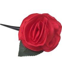 bico de pato fuxicos & frescuras rosa colombiana vermelho - tricae
