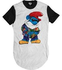 f5f76eaacbada Camisetas - Masculino - De Tecido - Branco E Preto - 51 produtos com ...