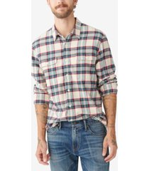 lucky brand men's humboldt work-wear woven shirt