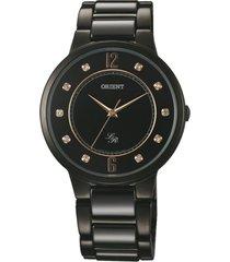 reloj casual negro orient