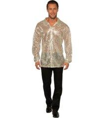 buyseasons men's sequin disco shirt