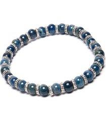 pulsera de hombre azul elastica pietre blu medie man colection by vestopazzo