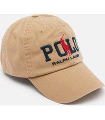 polo ralph lauren men's chino sports cap - luxury tan