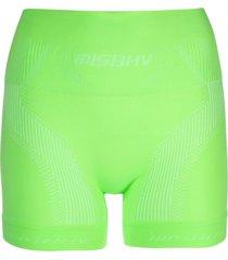 misbhv active classic short shorts - green