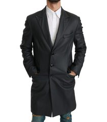 formeel lange trenchjas jacket