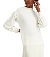 alfani balloon-sleeve top, created for macy's