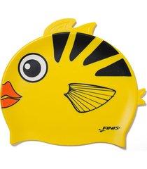 gorro silicona animales pez ángel finis usa – amarillo