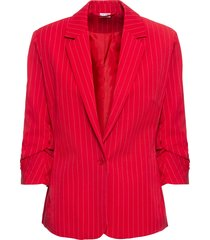 blazer gessato (rosso) - bodyflirt