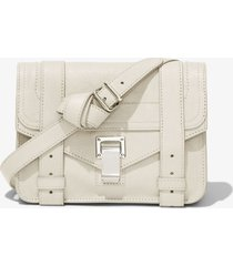 proenza schouler ps1 mini crossbody bag clay/white one size