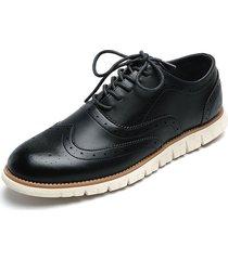 zapato casual de amarrar azul pierre cardin pc7245-d moda