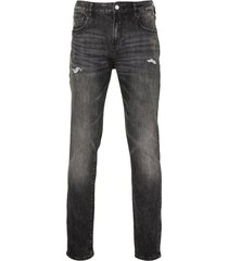 scotch & soda jeans - slim fit - grijs