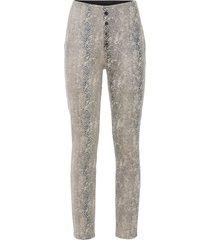 pantaloni elasticizzati in fantasia animalier (beige) - bodyflirt