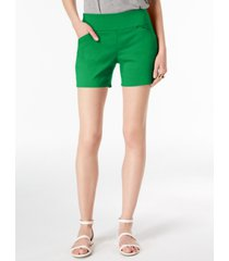 inc international concepts curvy pull-on shorts, created for macy's