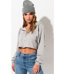 akira people change zip up sweatshirt