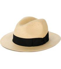 dolce & gabbana panama hat - neutrals