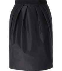 giambattista valli gathered waist skirt - black