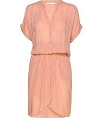 kiara knälång klänning rosa rabens sal r