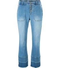 jeans elasticizzati taglio largo (blu) - bpc bonprix collection