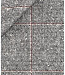 giacca da uomo su misura, vitale barberis canonico, lana seta grigio chiaro, primavera estate | lanieri