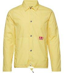 nate sharp nylon dun jack geel j. lindeberg
