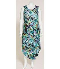 palmdale round-hem maxi dress