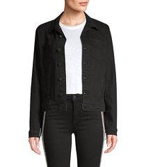 celine femme fringe denim jacket