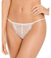 inc women's lace strappy thong underwear, created for macy's