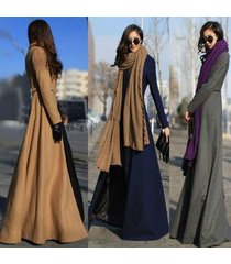 autumn winter large goddess slim thin open wiped long woolen coat long suit