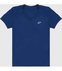 camiseta azul nike nsw tee lbr