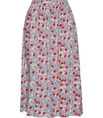 doma skirt knälång kjol blå nué notes