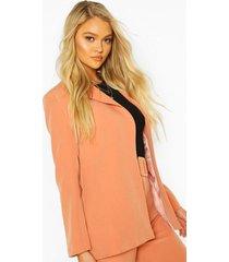 tailored mix & match blazer, coral