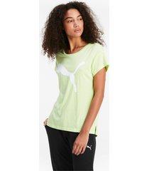 active t-shirt voor dames, groen, maat m | puma