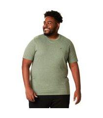 camiseta básica masculina manga curta mescla – p ao xgg