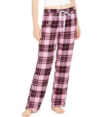 vera bradley plaid flannel pajama pants, online only